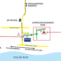 Cape Town Office Map